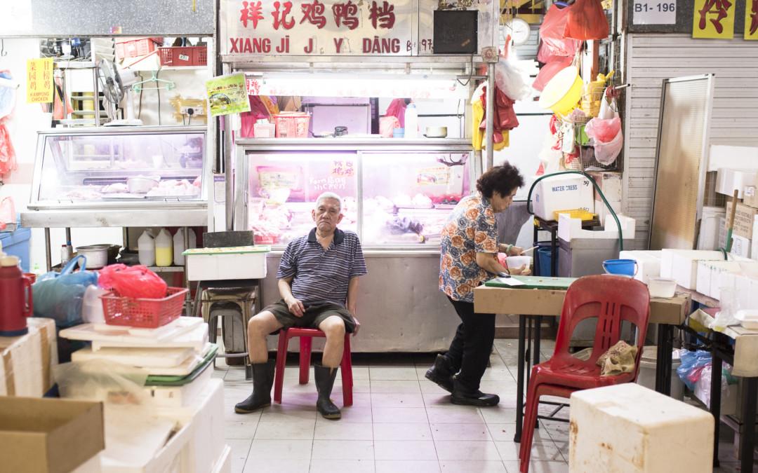 Chicken-Seller Uncle | Wet Market